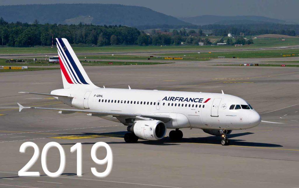 Avion air france 2019