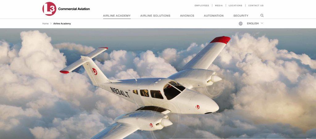 L3 commercial aviation école de formation pilote