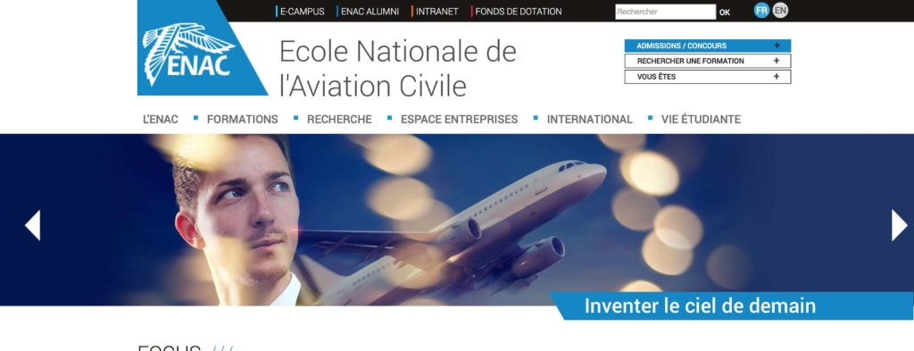 école nationale de l'aviation civile