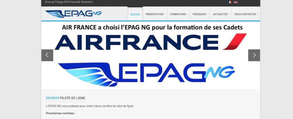 EPAG NG - école pilote de ligne