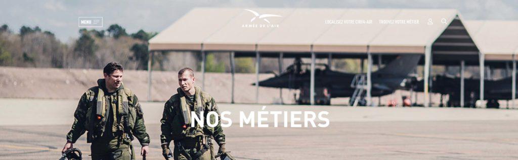 devenir pilote de chasse armée de l'air